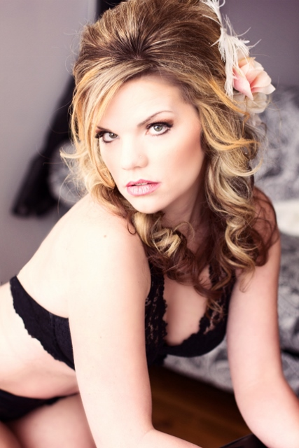 Female model photo shoot of Hayley Greenall in Lush Bodies Boudoir, Williams Lake, BC Canada
