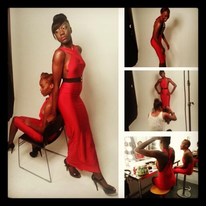 Female model photo shoot of Avesia B