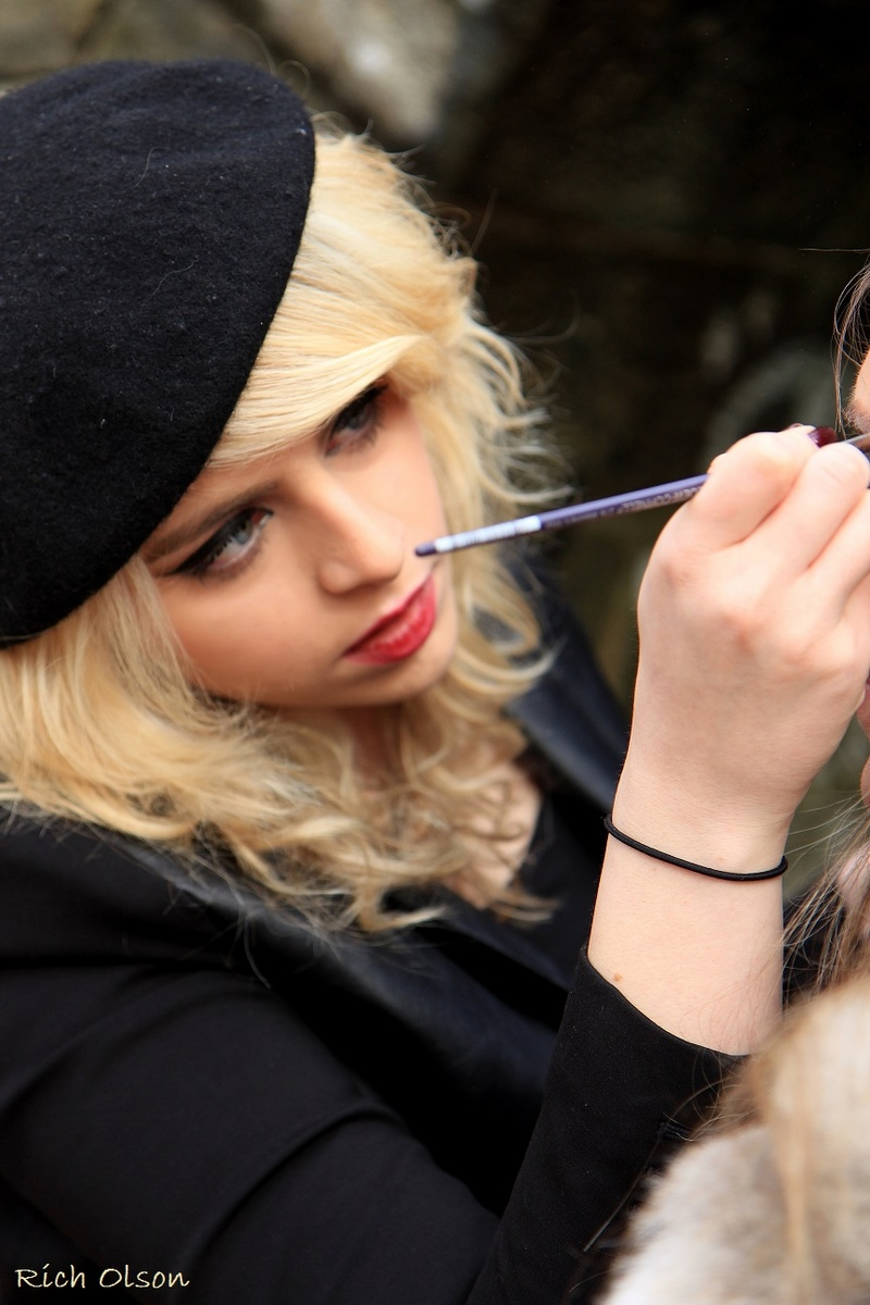 Female model photo shoot of Christalla Philippou by Rich Olson