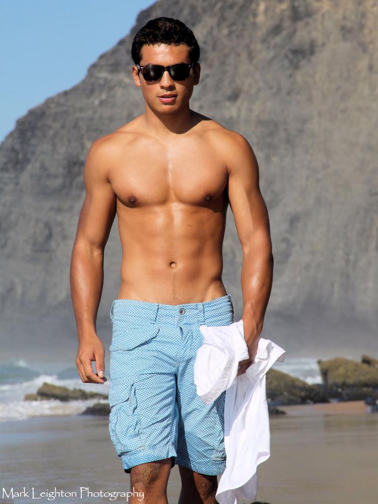 Male model photo shoot of Miguel Omari by Mark Leighton in Algarve