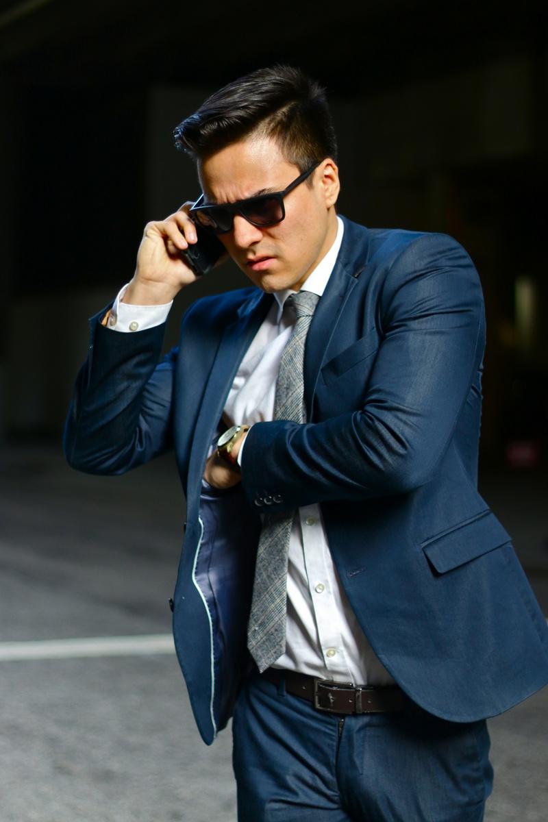 Male model photo shoot of Francis Nero