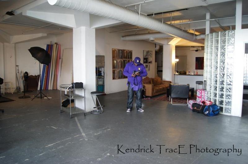 Male model photo shoot of KenDrick TracE Studios in Downtown LA