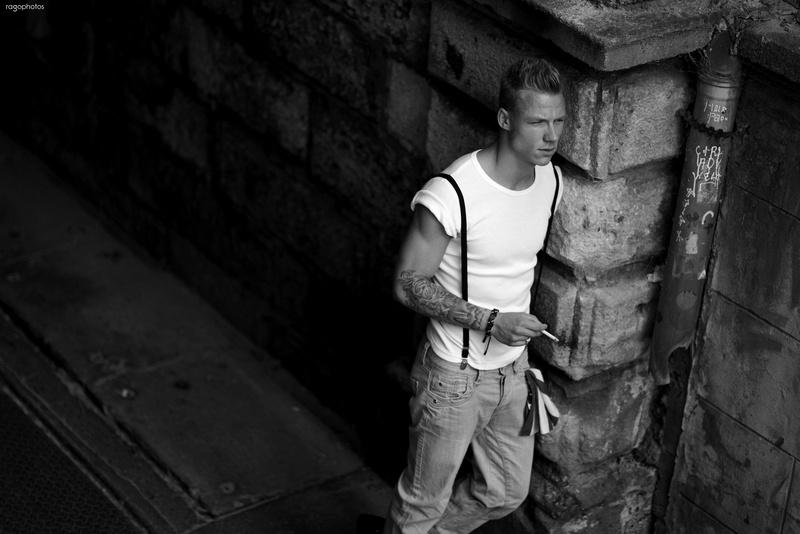 Male model photo shoot of Janos Nemeth