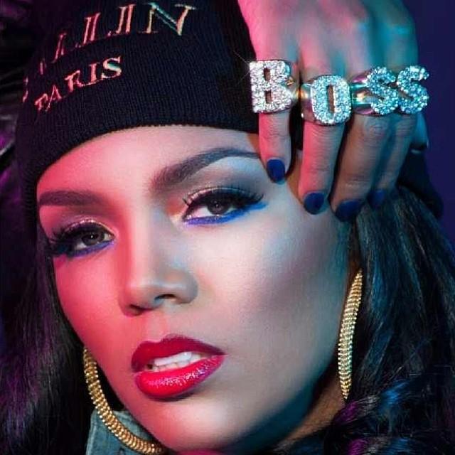 Female model photo shoot of Makeup Artist MiMi J