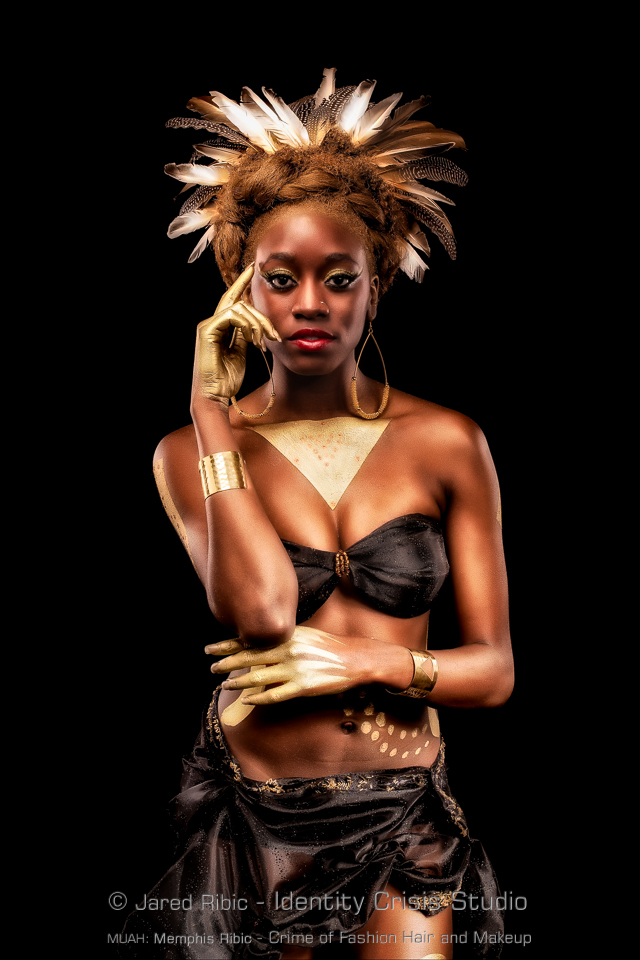 Feb 10, 2014 Jared Ribic Ethiopian Queen - Model: Lisa - Designer: Crime of Fashion Hair and Makeup