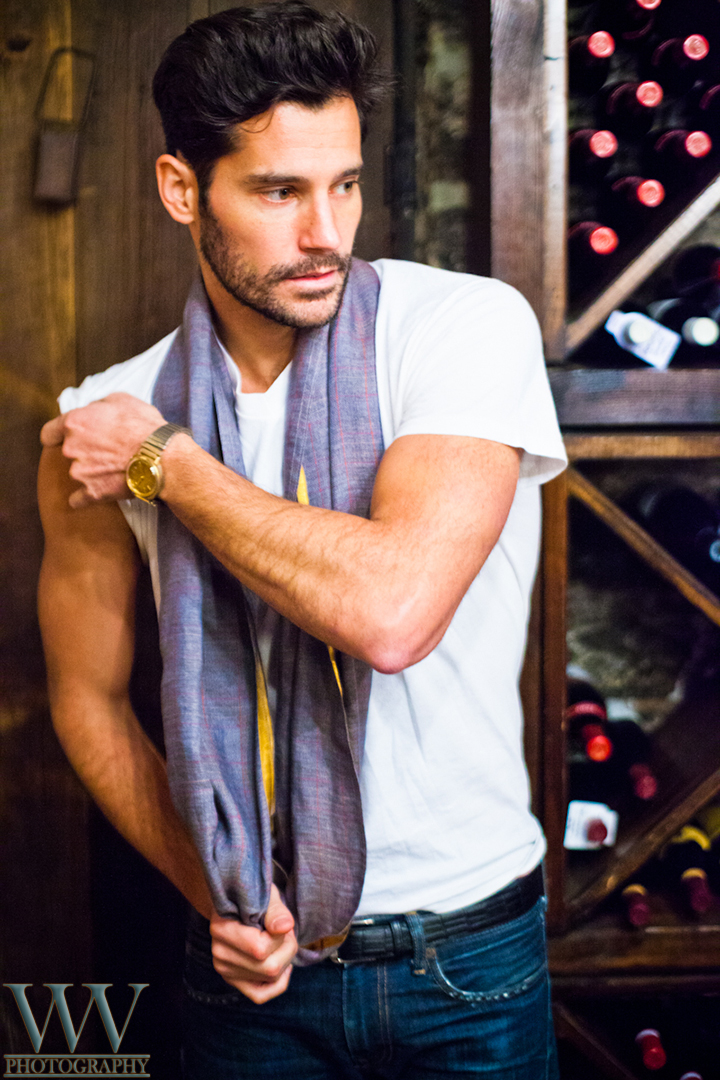 Male model photo shoot of Will Vaultz Photography in New York