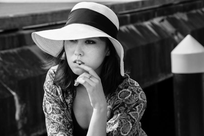 Sydney Feb 13, 2014 Jessica Tesla Nikki - Black and White - 2