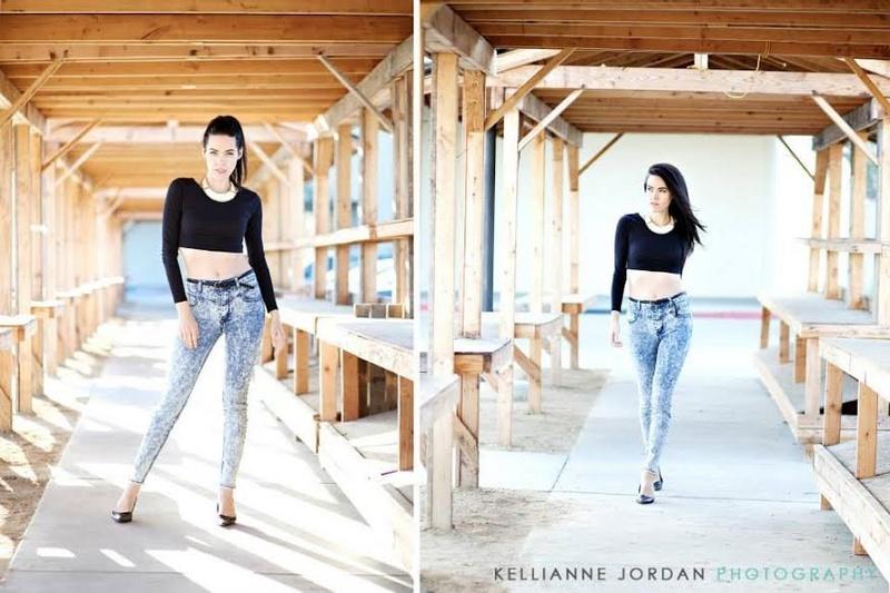 Female model photo shoot of April M Rand