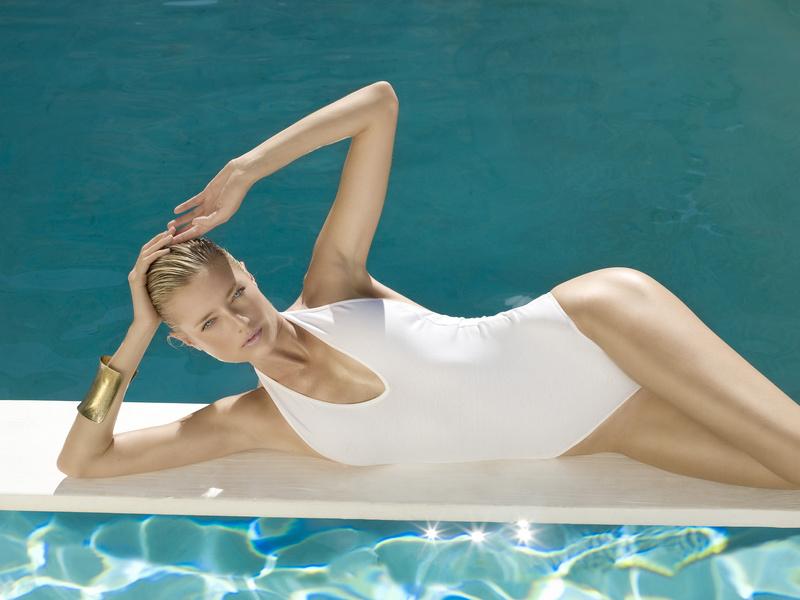 Female model photo shoot of sylvie blum in whiteBox studio hollywood