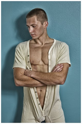 Male model photo shoot of Kristaps Zvaigzne by JH Spencer