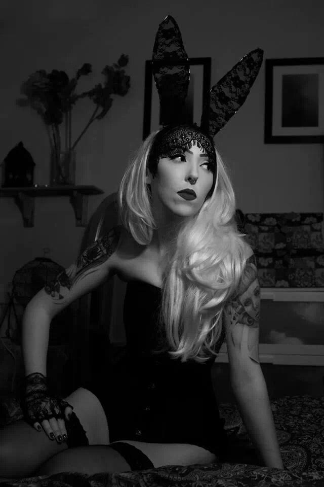 Female model photo shoot of Miss Saratonin