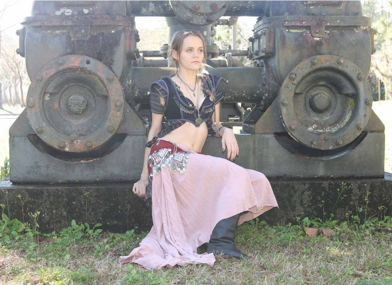 Male and Female model photo shoot of horseshoes_handgrenades and Criss Ellexis Wolfe in Gainesville