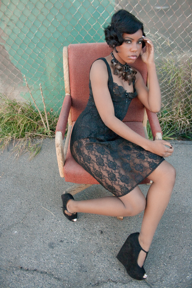 Female model photo shoot of Xiao Xing and Desiree Williams in North Hollywood, CA
