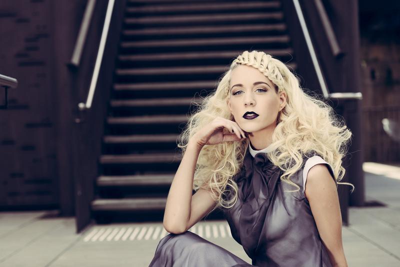 Female model photo shoot of Morgan Collyer-Jones in Paddington Reservoir Gardens