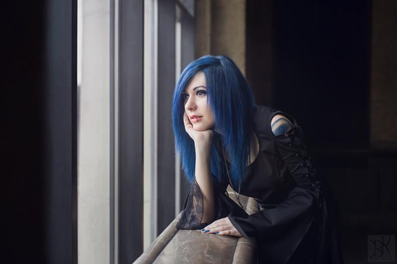Female model photo shoot of Veseleila Yanakieva  in sofia,bulgaria