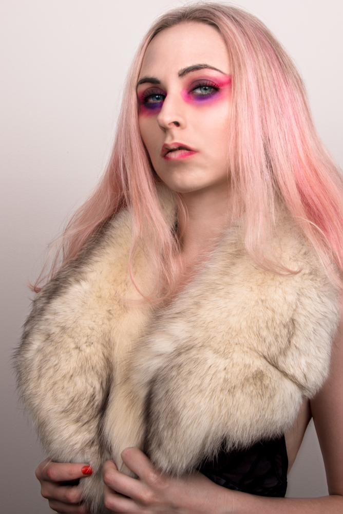 Female model photo shoot of Jessica Tesla and jessicatmodel in Home studio