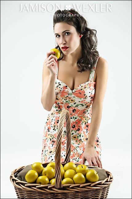 Female model photo shoot of Monica Saviolakis by Jamison Wexler