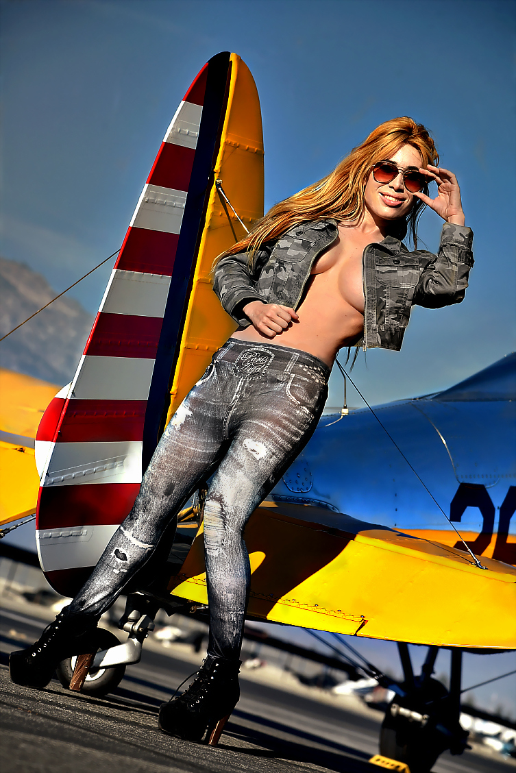 SoCal Mar 11, 2014 SM Shot of Andrea taken at the SM Cable Airshow Photoshoot!