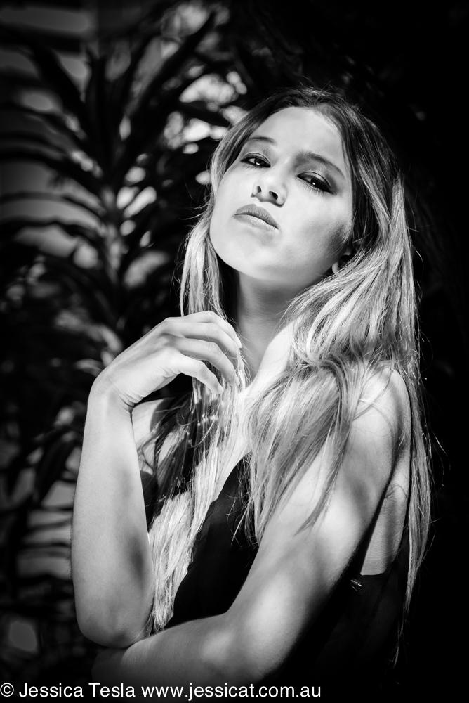 Female model photo shoot of Jessica Tesla and Nay Davis