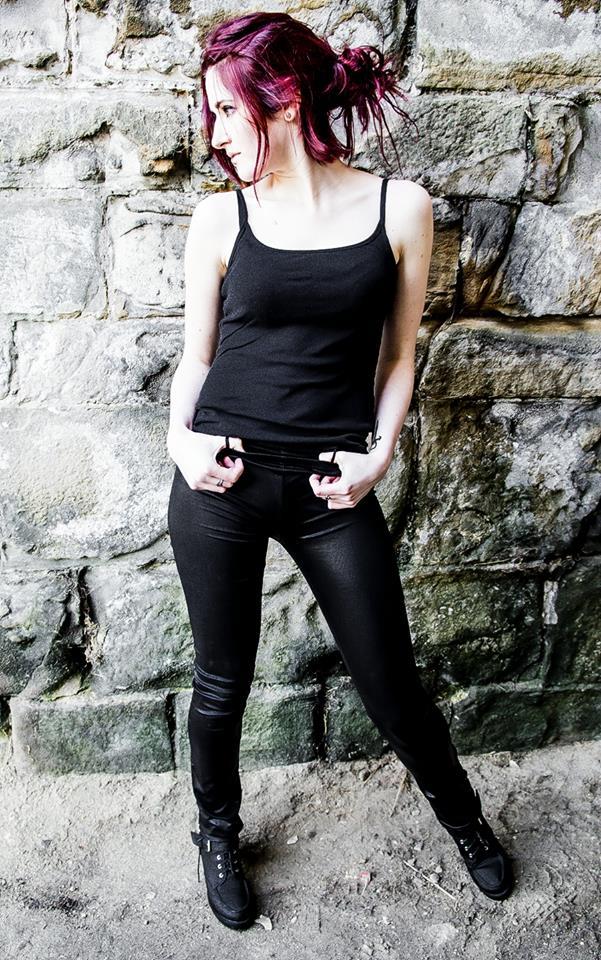 Female model photo shoot of Miss Delirium