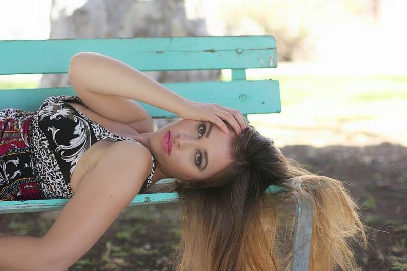 Female model photo shoot of Eliz Rose in Camarillo State Mental Hospital