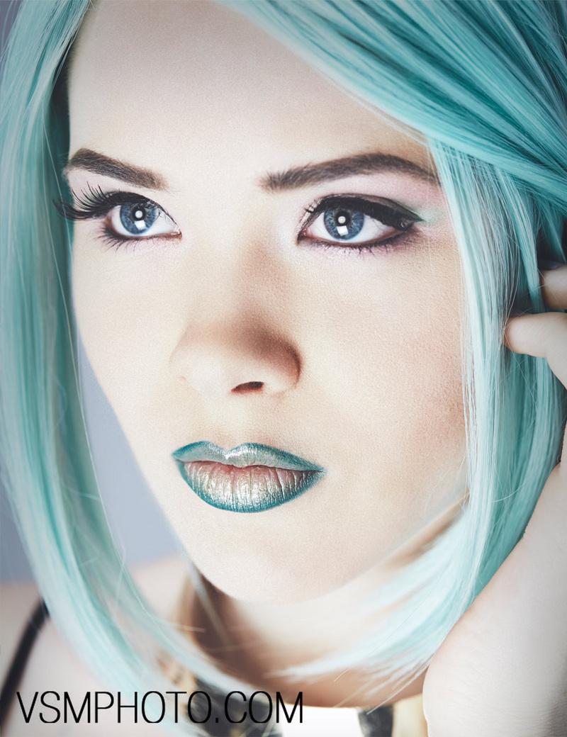 Female model photo shoot of Nicole Ziegler Artistry