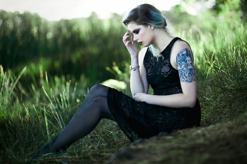 Female model photo shoot of AnnaG in Lake Merrit, San Francisco, CA