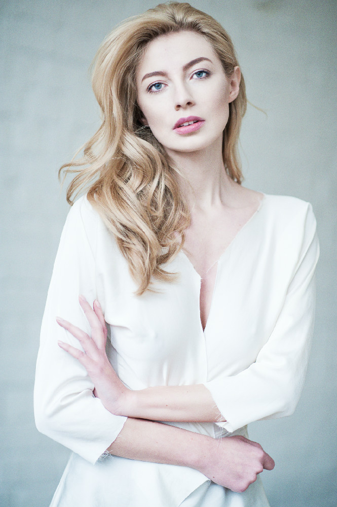 Female model photo shoot of Eulalia Miclaus