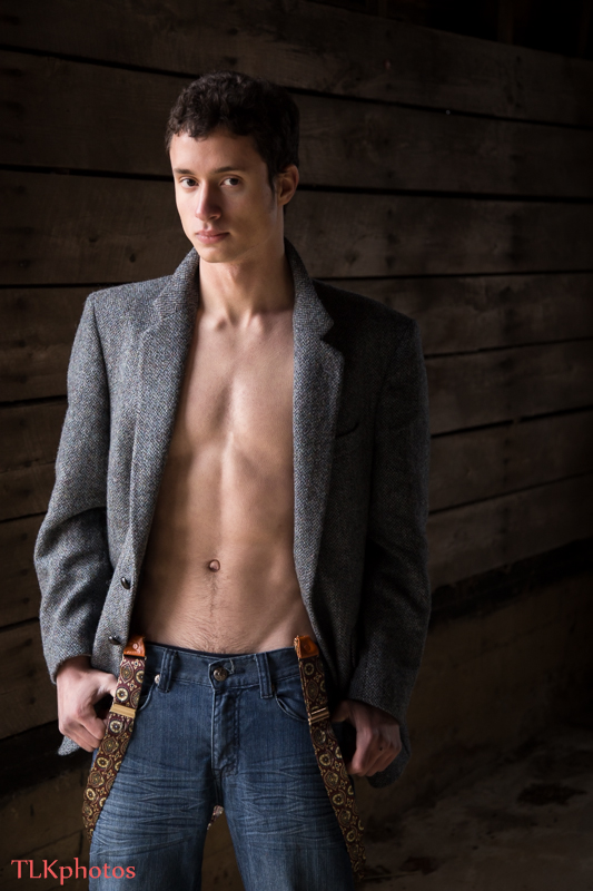 Male model photo shoot of Hector Bellerose by TLK Photos