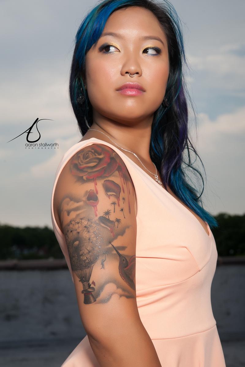 Female model photo shoot of lilmizzunperfect89 by Aaron D Stallworth Jr