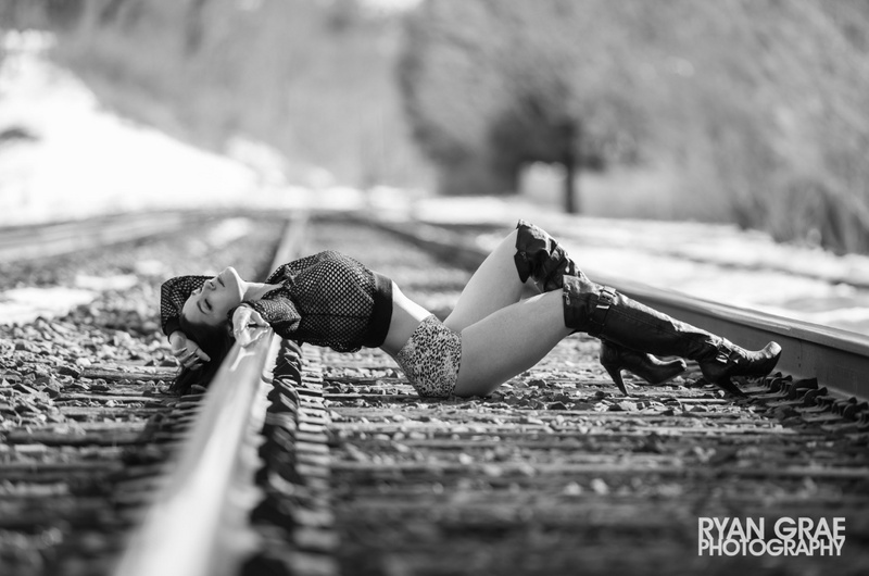 Female model photo shoot of Bronte Uccellini by Ryan Grae