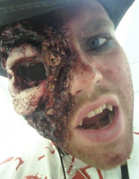 Male model photo shoot of morte615
