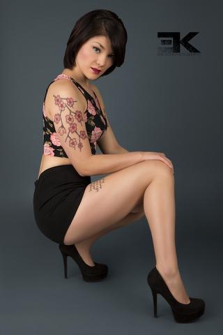 Female model photo shoot of VeronicaValentine92