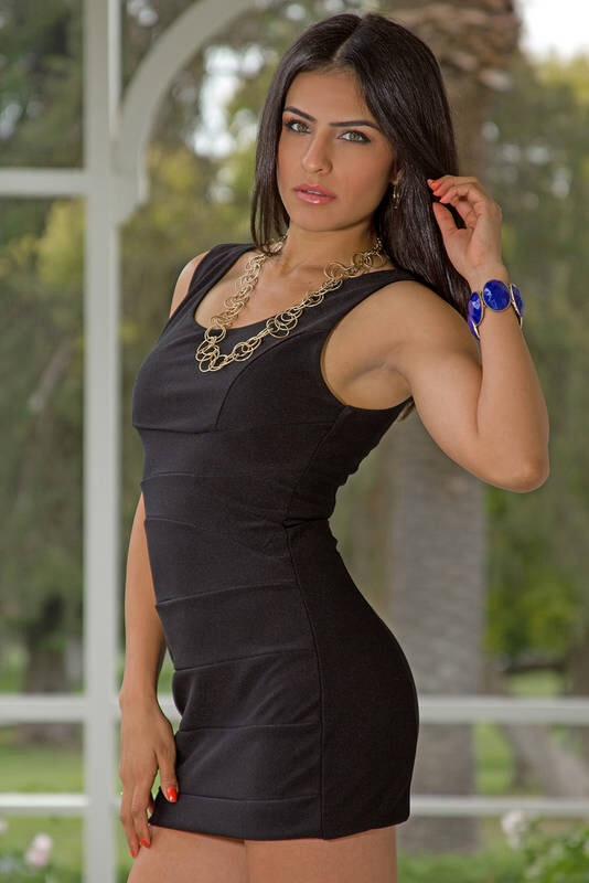 La modelo cubana Maria Manzo