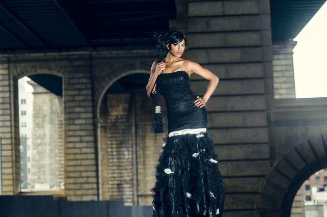 Female model photo shoot of TalishaLee in Dumbo