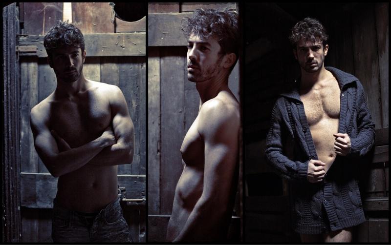 Male model photo shoot of Matthias Rabbione in Milan, Italy