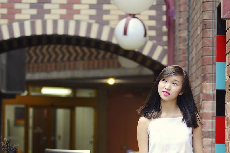 Female model photo shoot of melodytam