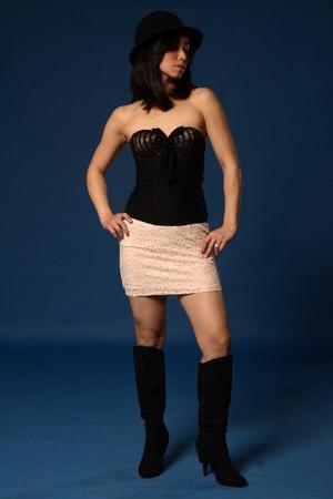 Female model photo shoot of izzystreng