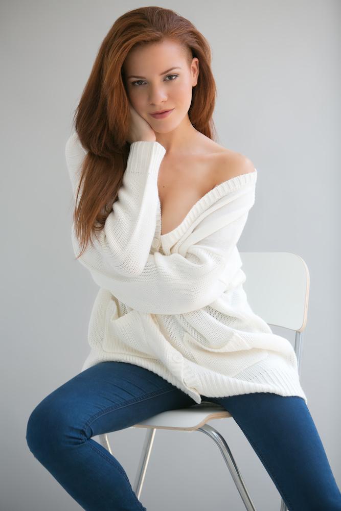 Female model photo shoot of Deni-Michelle in Miami Beach, FL