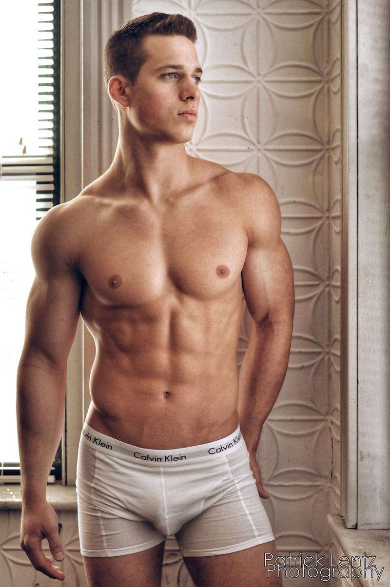Male model photo shoot of Patrick Lentz in South End, Boston, MA