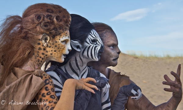 Female model photo shoot of Karley-Kooie in Rexburg Sand Dunes