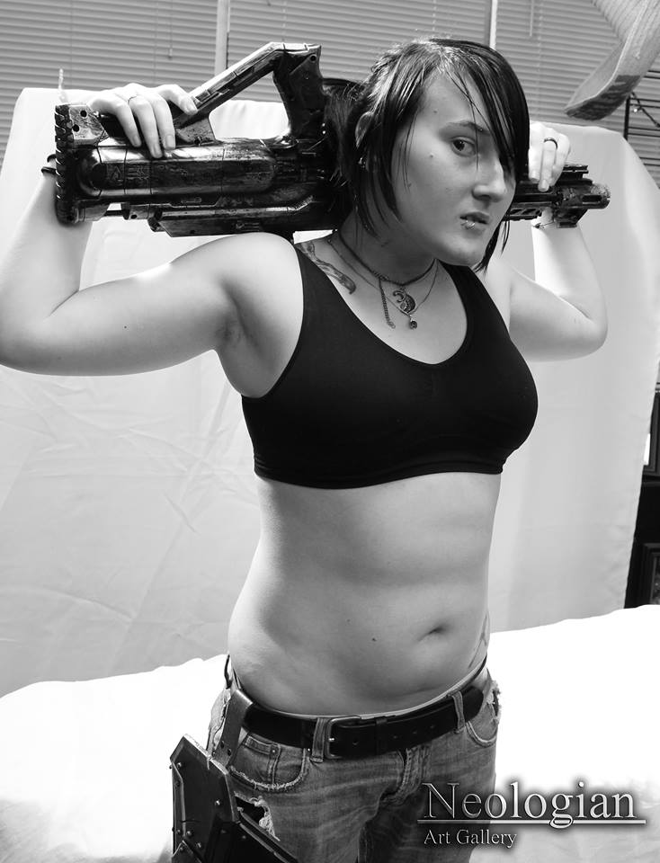Female model photo shoot of Lacey Riot  in Neologian Figure Drawing Workshop: Redwood City, CA