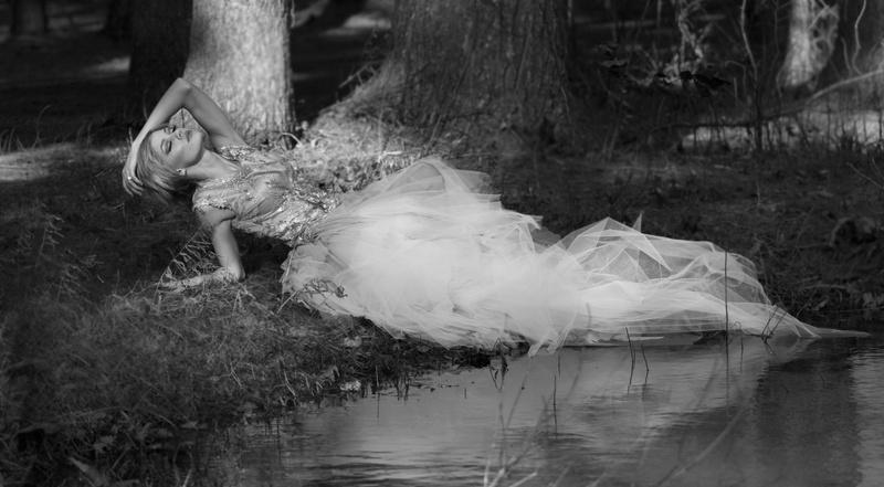 Female model photo shoot of Rebecca Seals in Ashley Reservoir