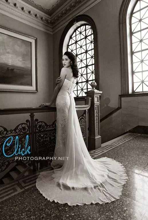Female model photo shoot of C J Crawford in Pioneers Museum in Colorado Springs