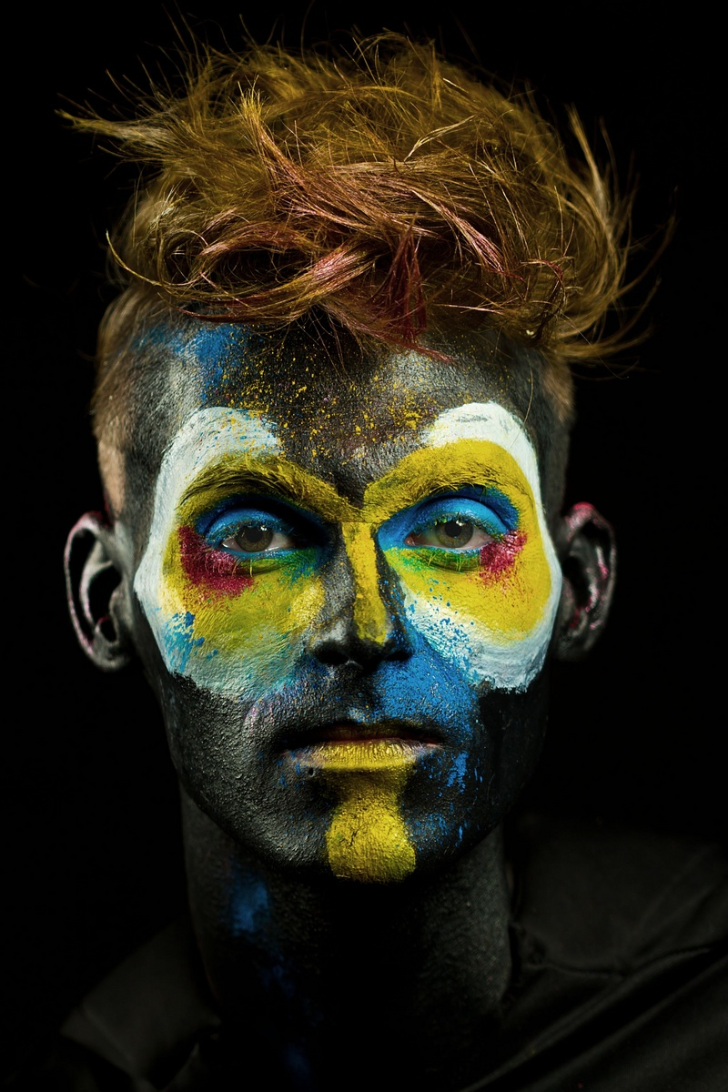 Male model photo shoot of Joshua M Ricker by Max Ganly Photography, makeup by Jama Hunt