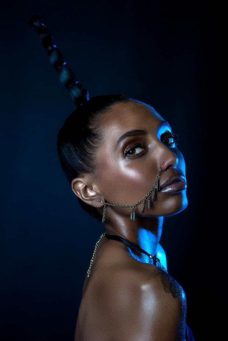 Female model photo shoot of Konjo Kalonji