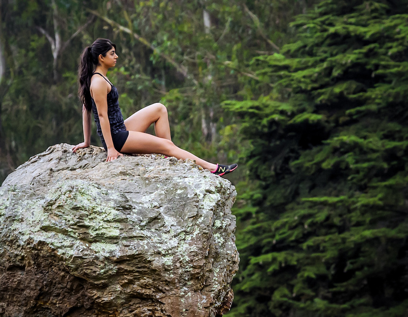 Female model photo shoot of Min M by Yerba Buena Model Photo