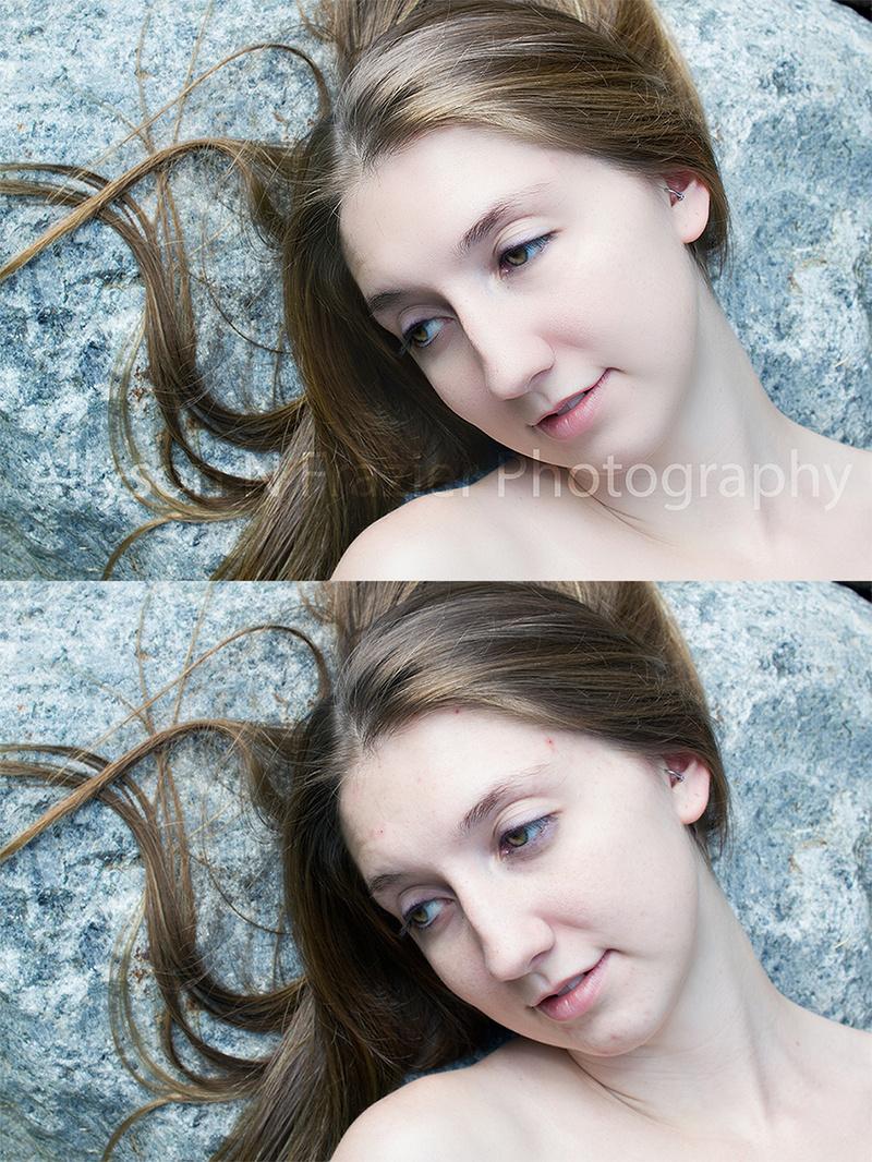 Female model photo shoot of Allyson N Frazier in Outdoors