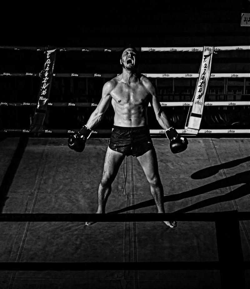 Male model photo shoot of VirusDaye