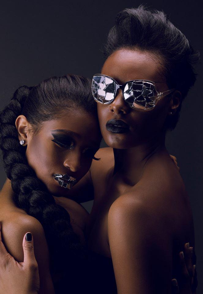 Female model photo shoot of ShaneeDanielle and Cashaey Serenity  in Washington DC